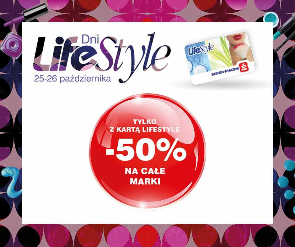 -50% na całe marki @Super pharm