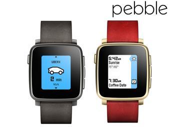 Smartwatch Pebble Time Steel (czarny lub złoty)