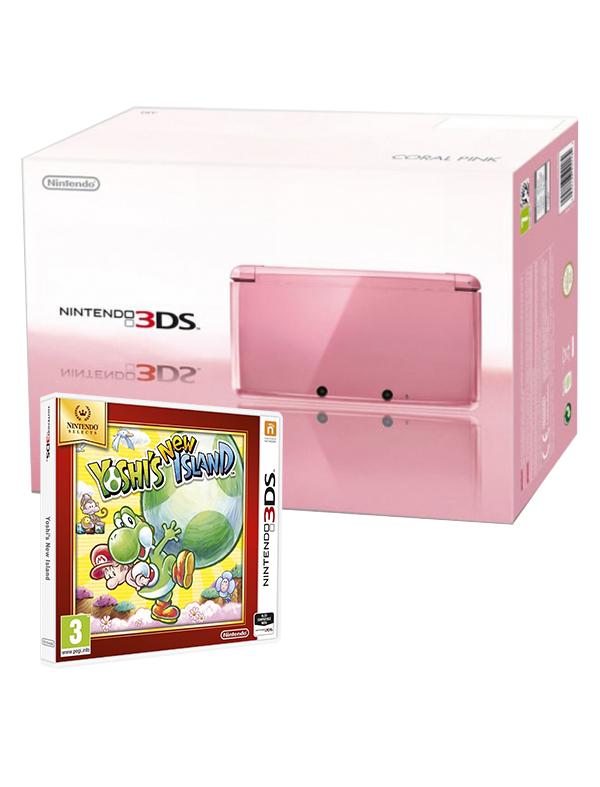 Konsola Nintendo 3DS + Yoshi's New Island lub Nintendogs za 349,99zł z dostawą @ CDP
