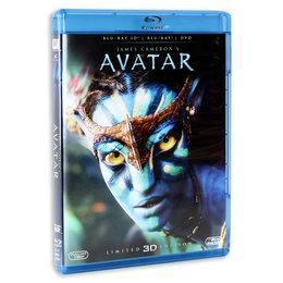 Avatar 3D [Blu-ray] za 46,99zł + 25zł na kolejne zakupy @ Empik