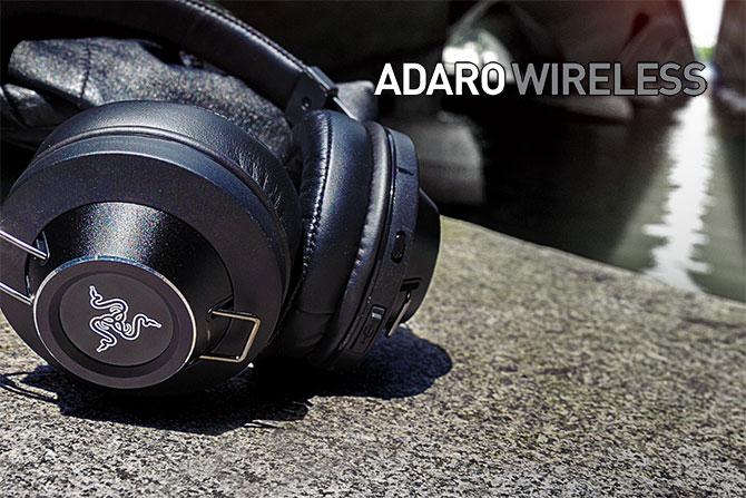 Słuchawki Bluetooth Razer Adaro Wirless @ Media ARENA