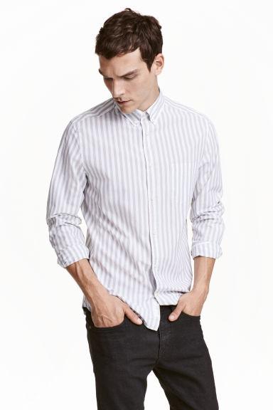 Koszula z długim rękawem za 23,90zł (pełna rozmiarówka) @ H&M