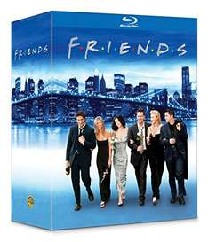 Przyjaciele (Friends) na Blu-Ray lub The Wire za ~206zł z dostawą @ Amazon.fr