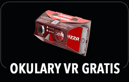 Okulary VR gratis przy zakupie menu Halloween w Telepizzy