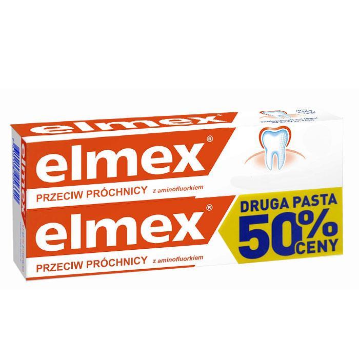 Pasta do zębów Elmex przeciw próchnicy (2x 75ml) za 14,99PLN @ Netto