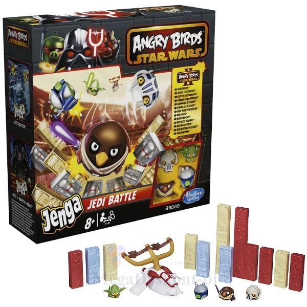 Gra Angry Birds Star Wars - Jenga Bitwa Rycerzy Jedi za 24,46zł @ Megadyskont