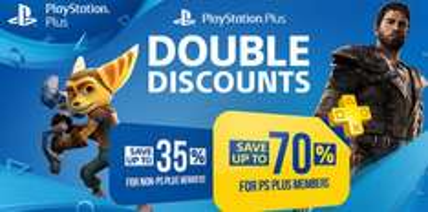 Podwójna zniżka dla posiadaczy PS PLUS do -70% (PS4, PS3)