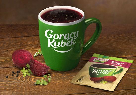 Knorr kubek ceramiczny gratis (przy zakupie 4 zup instant Gorący Kubek za 4PLN) @ Carrefour