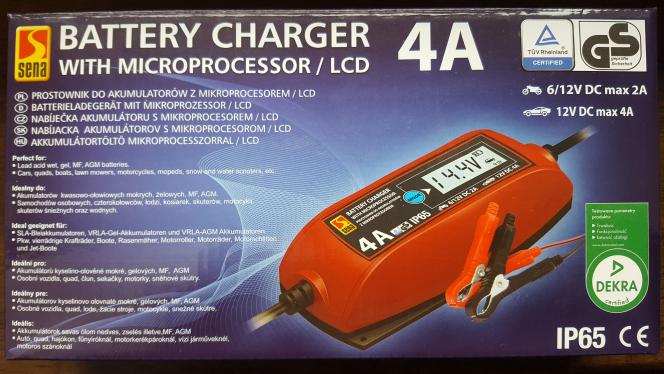 Prostownik procesorowy, ładowarka do akumulatorów samochodowych - bardzo dobra cena