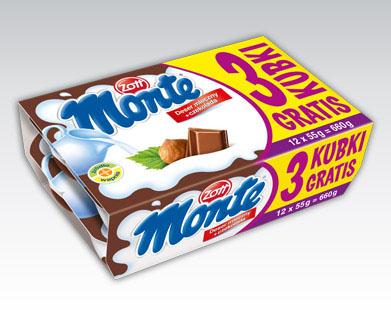Deser Monte, 12 sztuk za 5,99zł @ Biedronka