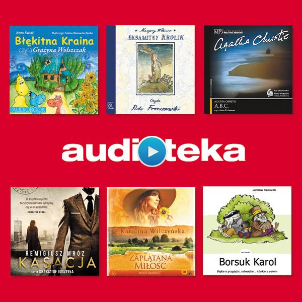 1 z 6 Audiobooków  za darmo @ Audioteka