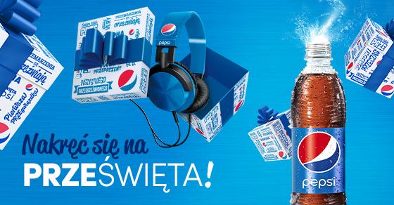 Wymieniaj zakrętki na prezenty (butelka Pepsi, Hot Wings KFC i słuchawki) @ Pepsi