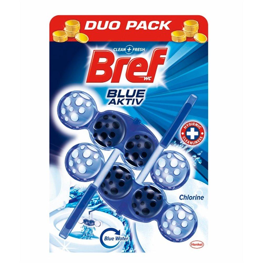 Zawieszka do WC Bref Blue Aktiv, 2x50 g za 7,89PLN @ BIedronka