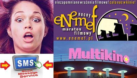 Zniżka ENEMEF Nocny Maraton Filmowy Multikino na bilety