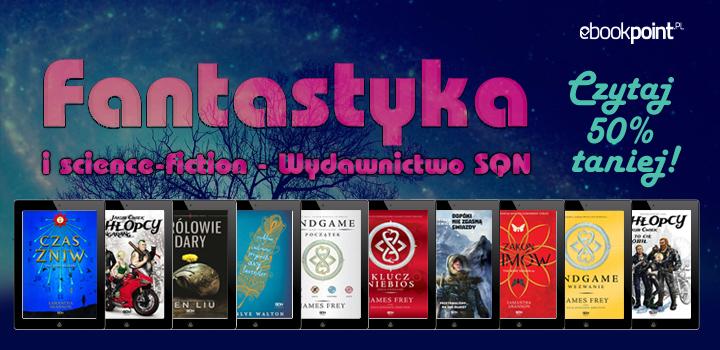 Fantastyka 50% taniej @ ebookpoint.pl
