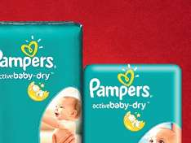 Pieluchy Pampers baby-dry za 29,99zł @ Lidl