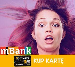100% zwrotu za kartę OpenCard dzięki mOkazje od mBank-u
