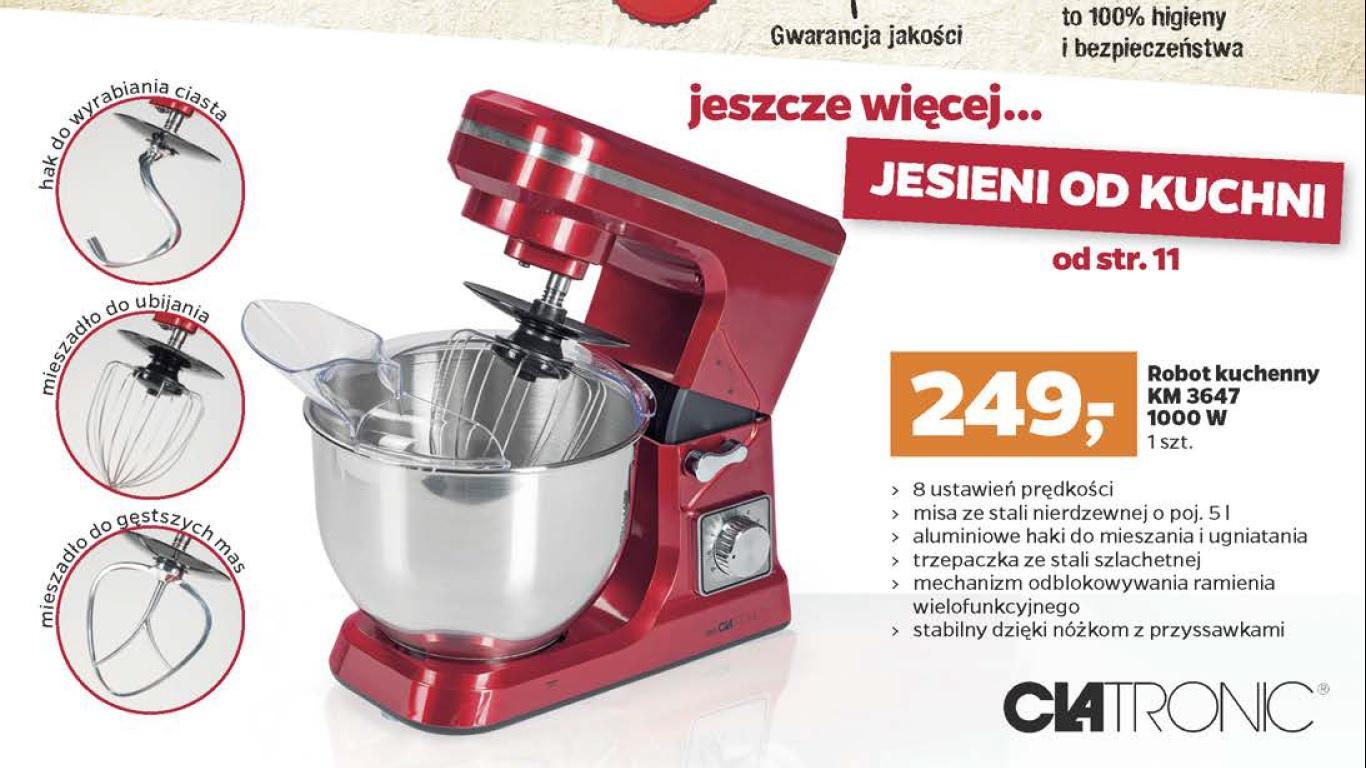 Robot kuchenny CLATRONIC 1000Wat@netto