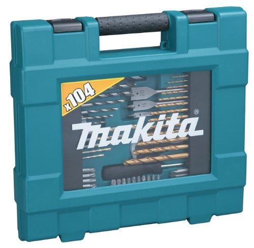 Makita D-31778 (zestaw wierteł, bitów i innych akcesoriów - 104szt.) za ok. 162zł @ Amazon.es