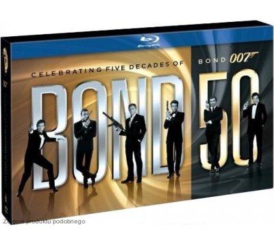 007 James Bond - kolekcja 23 filmów na Blu-Ray na 50 lecie @ Saturn