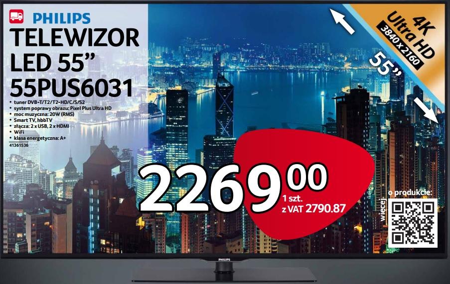 Telewizor Philips LED 55PUS6031