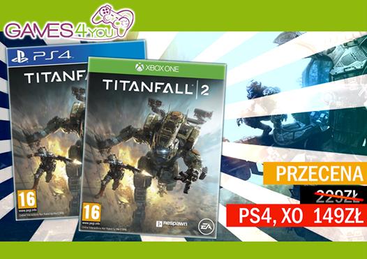 Titanfall 2 na PS4, nowy za 149zł