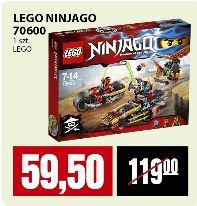 Klocki LEGO Ninjago 70600 za 59,50zł @ Piotr i Paweł
