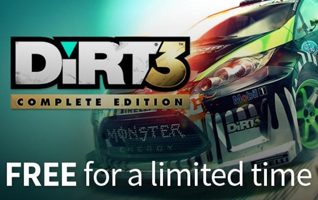 Dirt 3 Complete za darmo w Humble Store!