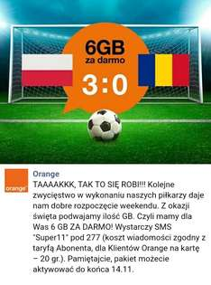 6GB za darmo @Orange
