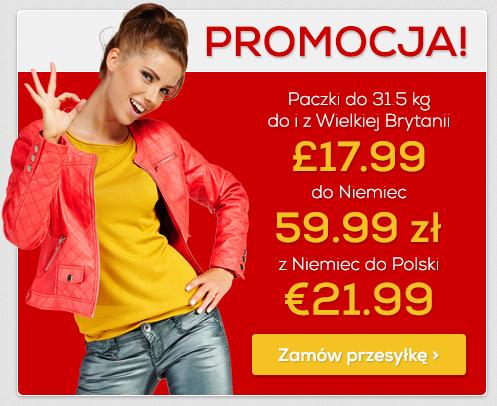 10% zniżki na paczki zagraniczne @ przesylarka.pl