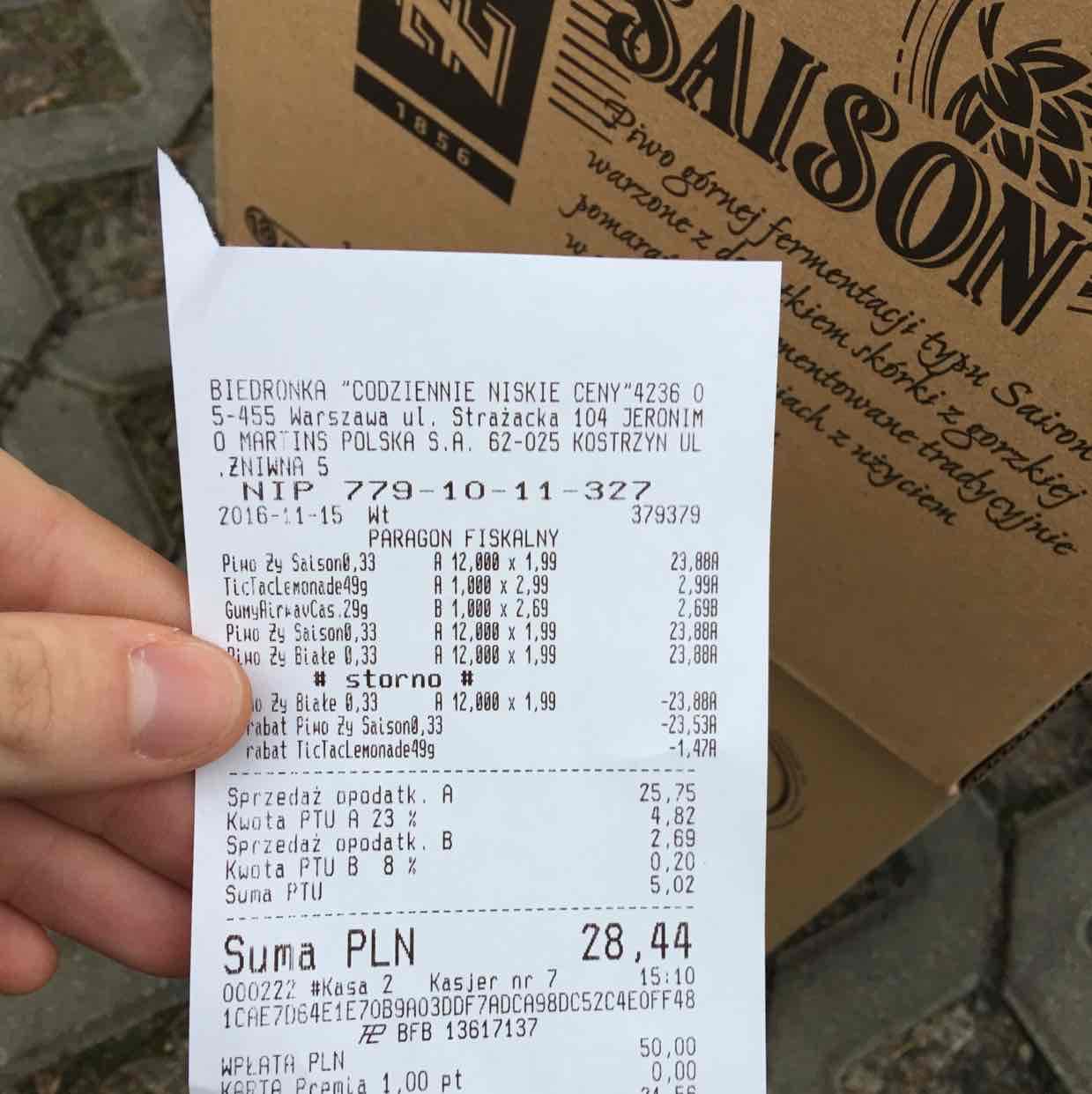 Żywiec Saison 330ml za 1,00PLN