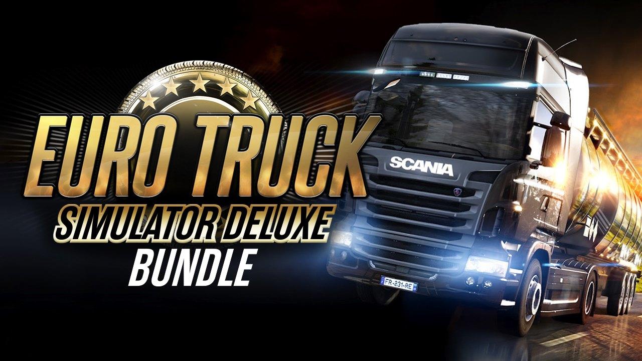Euro Truck Simulator 2 - Deluxe Bundle - 5 gier i 21 DLC @Bundle Stars