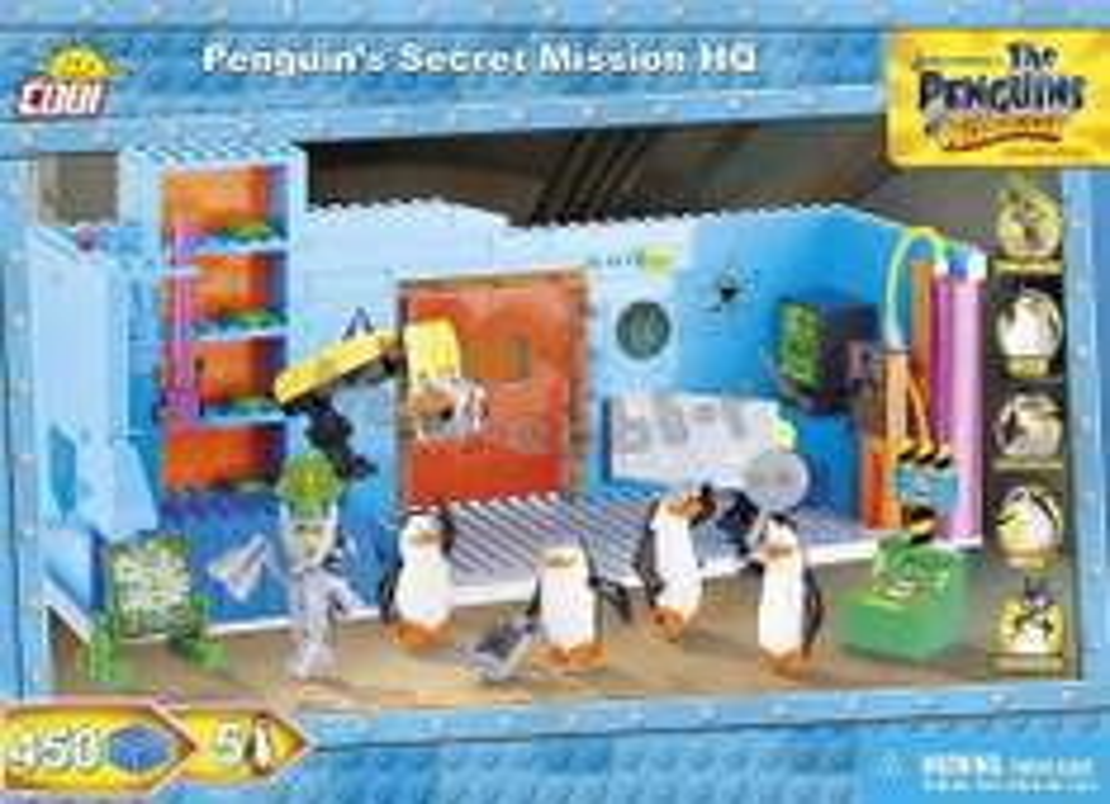 Cobi Tajna Misja Pingwinów v2 - Kwatera Główna