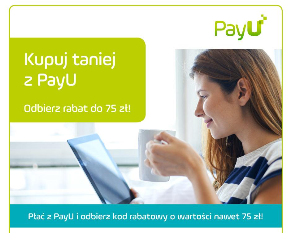 Do 75 zł za płatność PayU @ Euro