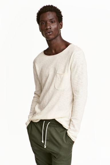 T-shirt z długim rękawem za 16,11zł + darmowa dostawa @ H&M