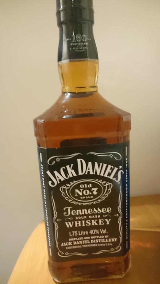 Jack Daniel's 1,75L @Carrefour Wrocław