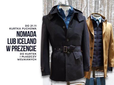 Do wełnianej kurtki lub płaszcza, kurtka puchowa GRATIS (ceny od 499zł) @ Bytom