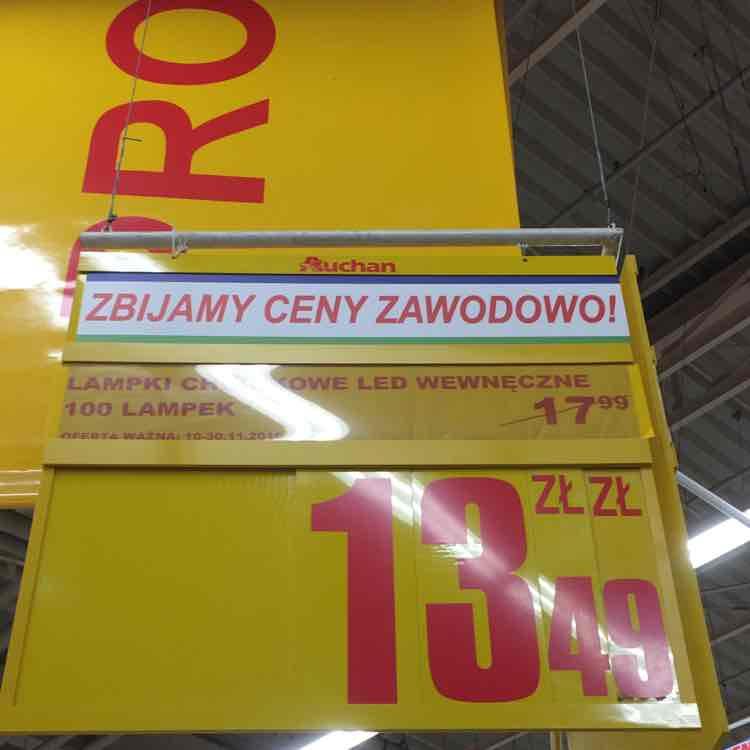 Lampki choinkowe WEWNĘCZNE :) za 13,49