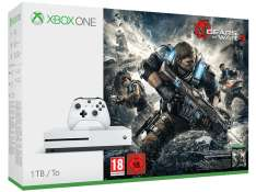 Xbox One S 1TB + Gears of War + Dishonored 2