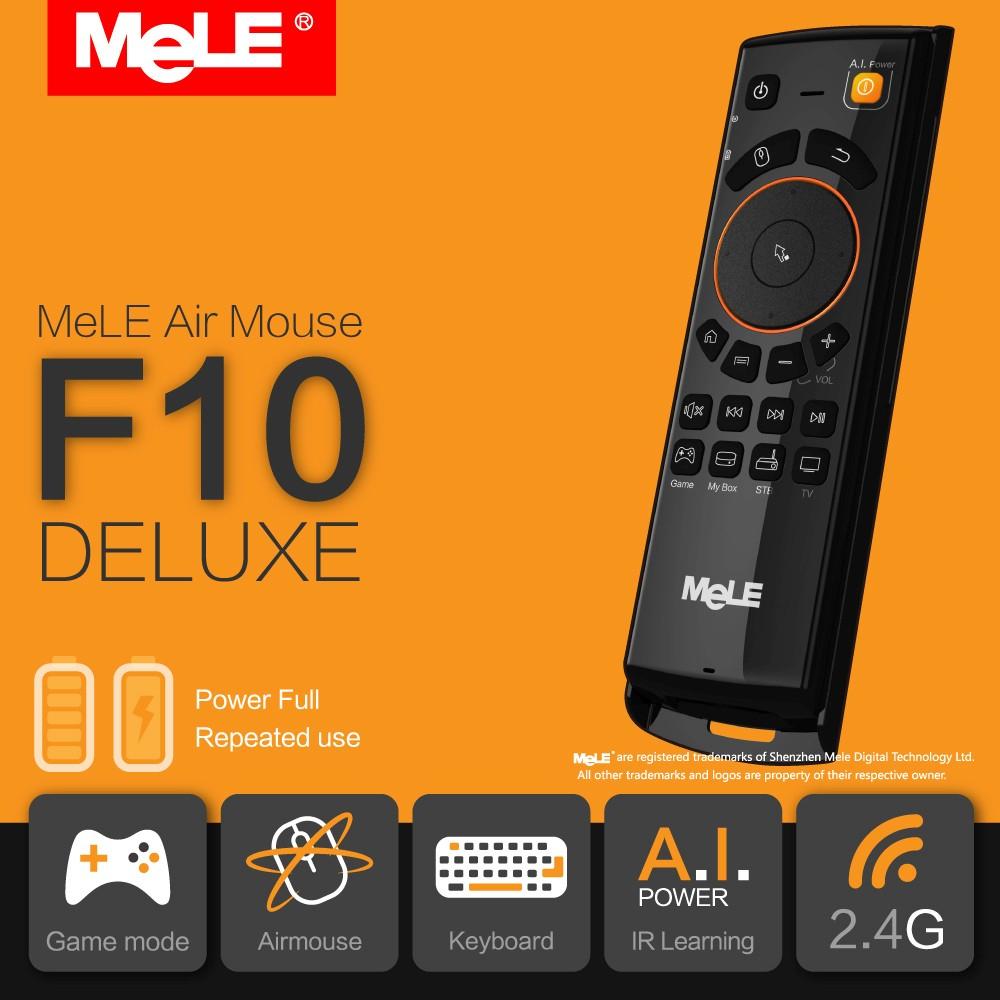 Piloty MeLE F10 Deluxe/F10 BT/F10 Pro  w dobrych cenach!
