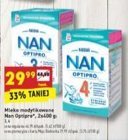 Mleko NAN 2x400g za 29,99zł @ Biedronka
