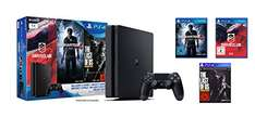 PS4 Slim 1TB + 3 GRY (The Last of Us, Uncharted 4, Drive Club) @ Amazon.de