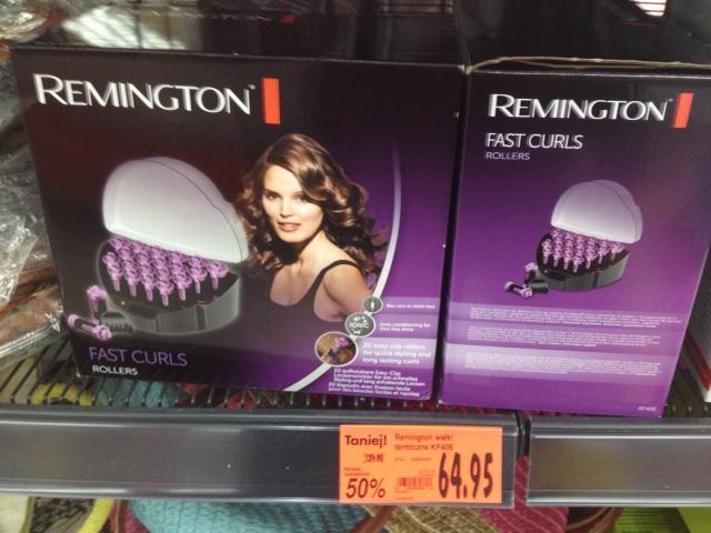 Wałki termiczne Remington taniej o 50% @ Kaufland