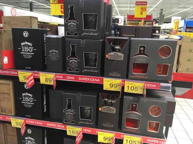 Jack Daniels w niższych cenach