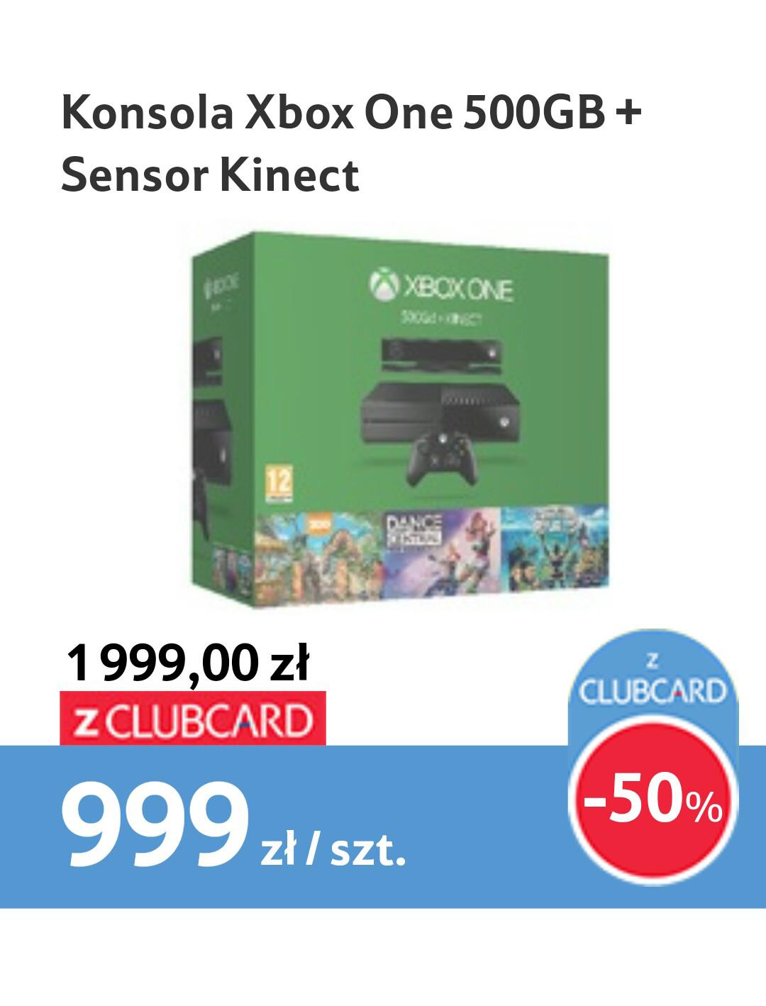 [BLACK FRIDAY] Xbox One + Kinect i 3 gry + 3 Miesiące GOLD