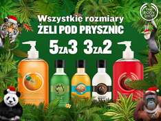 Żele pod prysznic - 5 za 3, 3 za 2 @ The Body Shop