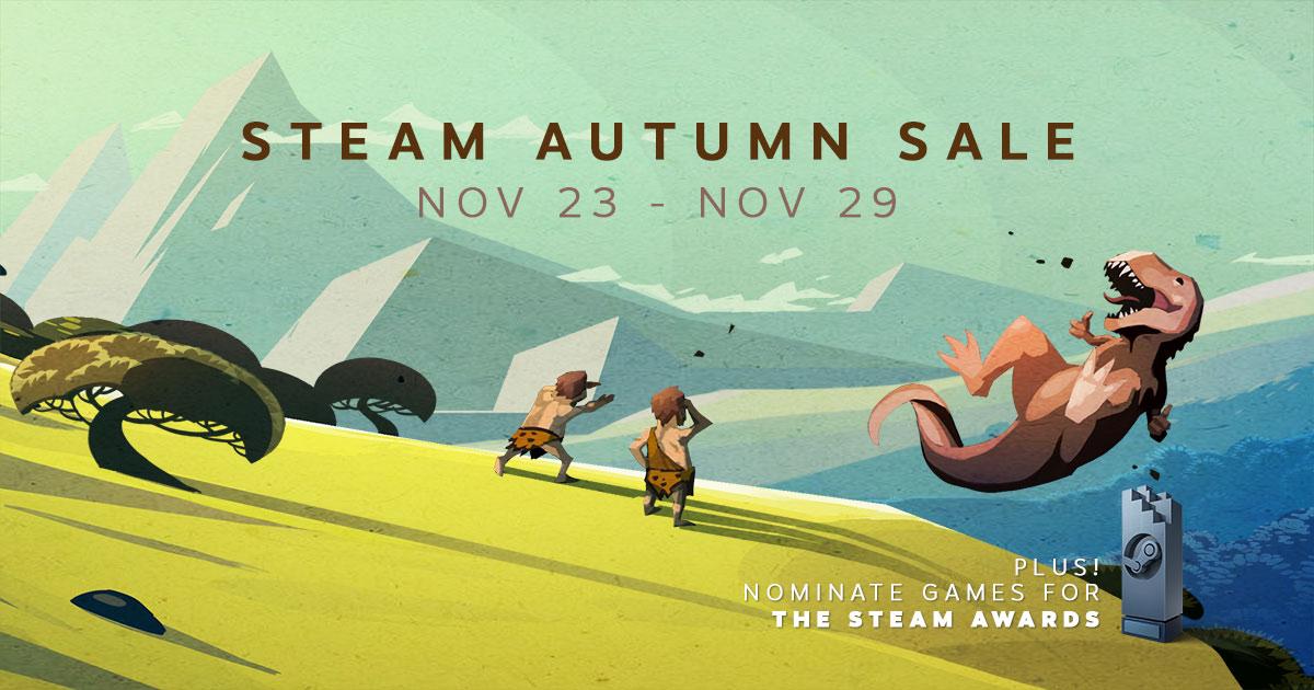 Steam - wielka jesienna wyprzedaż!