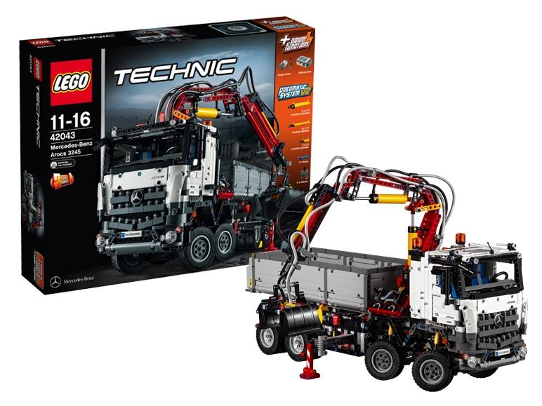 Mercedes-Benz Arocs z klocków Lego, zestaw 42043 od 28.11  @LIDL