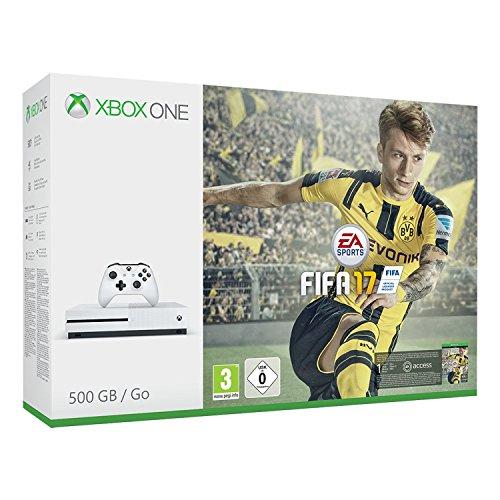Xbox One S 500GB + FIFA 17 Bundle @amazon.de