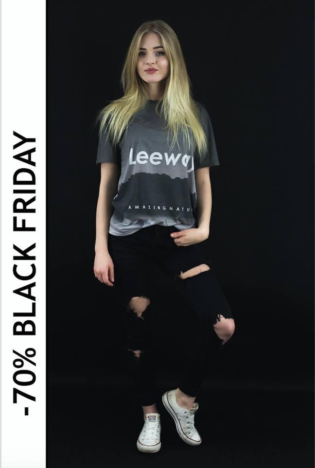 -70% Leewaywear, z kodem BLACK